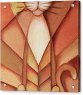 King Of The Cats Acrylic Print by Jutta Maria Pusl