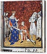 King Philip Iv Of France Acrylic Print