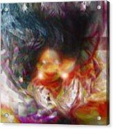 King Troll Acrylic Print