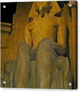 King Tut At The Luxor Hotel Acrylic Print