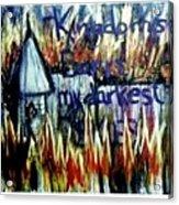 Kingdoms Burn Acrylic Print