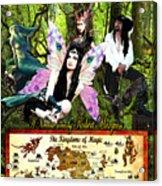 Kingdoms Of Magic Fairy Poster Acrylic Print