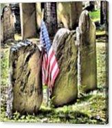 King's Chapel Cemetery  Acrylic Print