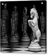 King's Court - The Valiant Knight Acrylic Print