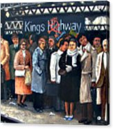 Kings Highway Subway Station Acrylic Print