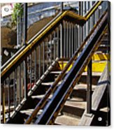 Kings Hwy Subway Station In Brooklyn Acrylic Print