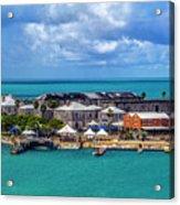 Kings Wharf, Bermuda Acrylic Print