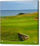 Kingsbarns Golf Links Hole #18 Acrylic Print