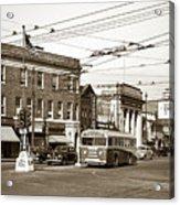 Kingston Corners Kingston Pa Early 1950s Acrylic Print
