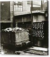 Kingston Pa Kingston Coal Co Ticket Board At The Breaker 1924 Acrylic Print