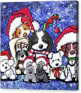 Kiniart Christmas Party Acrylic Print