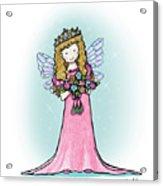 Kiniart Faerie Princess Acrylic Print