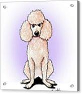 Kiniart Poodle Acrylic Print