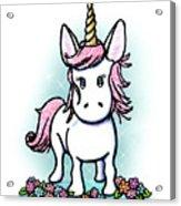 Kiniart Unicorn Sparkle Acrylic Print
