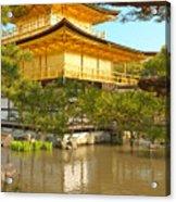 Kinkakuji Golden Pavilion Kyoto Acrylic Print