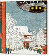 Kinryuzan Temple At Asakusa Acrylic Print