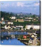 Kinsale, Co Cork, Ireland View Of Boats Acrylic Print