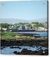 Kinvara Seaside Village Galway Ireland Acrylic Print