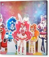 Kirakira Precure A La Mode Acrylic Print