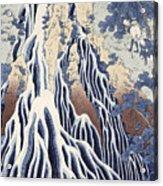 Kirifuri Fall On Kurokami Mount Acrylic Print