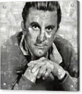 Kirk Douglas Hollywood Actor Acrylic Print