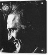 Kirk Douglas Laughing Old Tucson Arizona 1971 Acrylic Print