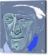 Kirk Douglas Old Tucson Arizona Number 2 1971-2008 Acrylic Print