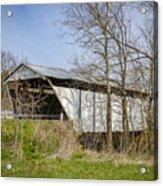 Kirker Covered Bridge  Acrylic Print