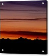 Kirkland At Sunset Acrylic Print by Barbara Norfleet