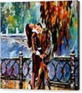 Kiss After The Rain Acrylic Print