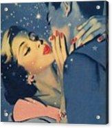 Kiss Goodnight Acrylic Print