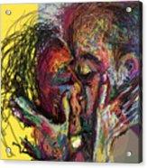 Kiss Me You Big Dick Acrylic Print