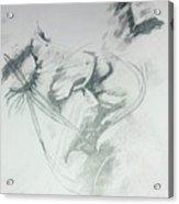 Kiss Of Love Acrylic Print