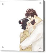 Kiss On A Nose Acrylic Print