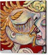 Kiss On The Nose Acrylic Print
