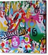 Kiss The Rainbow Acrylic Print