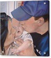 Kisses For Baby Acrylic Print by Terri Thompson