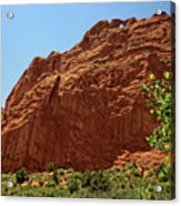 Kissing Camels At The Garden Of The Gods Acrylic Print