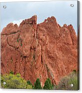 Kissing Camels Rock Garden Of The Gods Acrylic Print