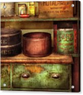 Kitchen - Food - The Cake Chest Acrylic Print