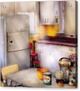 Kitchen - A 1960's Kitchen  Acrylic Print