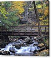 Kitchen Creek Bridge Acrylic Print