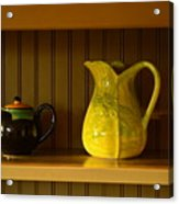 Kitchen Cupboard Acrylic Print