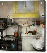 Kitchen - How I Bake Bread 1923 Acrylic Print