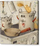 Kitchen Acrylic Print