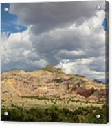 Kitchen Mesa Panorama Acrylic Print
