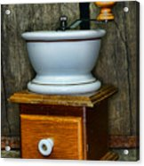 Kitchen - Retro Coffee Maker Acrylic Print