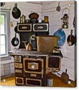 Kitchen Stove In Old Victoria-michigan  Acrylic Print