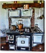 Kitchen - The Vintage Stove Acrylic Print