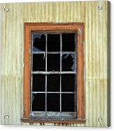 Kitchen Window Acrylic Print